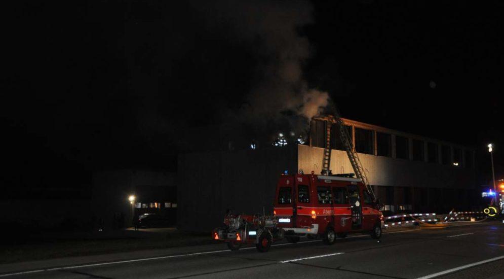 Bettlach SO: Neubau in Brand geraten