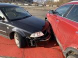 Stadt Schaffhausen: Unfall im Verzweigungsbereich