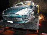 Unfall Chur GR: Neulenker (18) crasht in Felswand