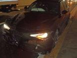 Unfall A2 Sonnenbergtunnel LU - Selbstunfall mit Personenwagen