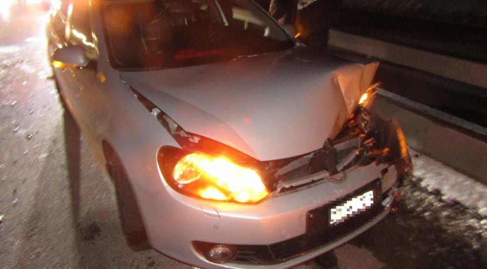 A3, Bilten GL: Unfall auf der Autobahn
