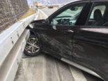 Unfall Mühlehorn GL - Crash auf der A3