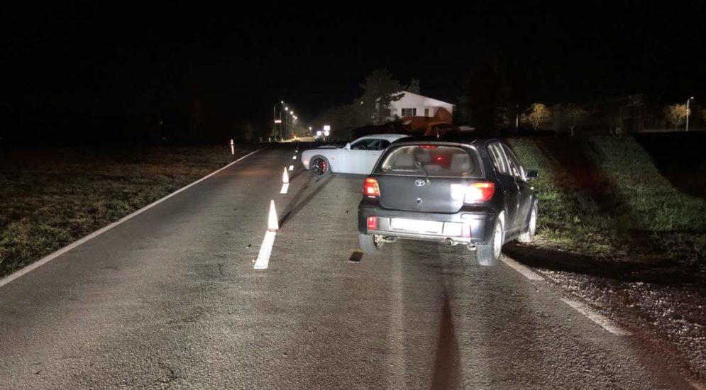 Unfall Lengwil TG: Fahrer (46) alkoholisiert mit zwei Autos kollidiert