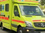Unfall Neuhausen am Rheinfall SH - Schwer verletzter Bauarbeiter (27)