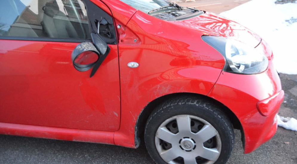 Speicher AR: Unfall zwischen Auto und Fahrrad