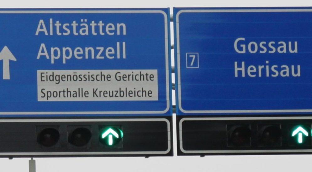 Rosenberg Ost SG: Nächtliche Sperrungen der Stadtautobahn