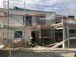 Murist FR: Brand in einem im Bau befindlichen Haus