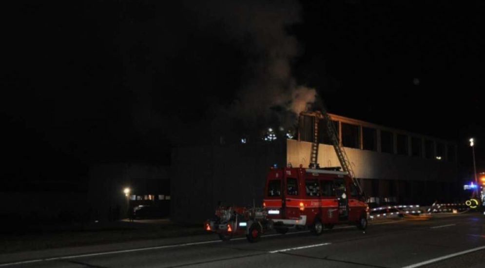 Brand in Bettlach SO: Feuer entstand bei Schweissarbeiten