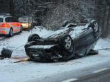 Kantons St.Gallen: Schneefall fordert sechs Unfälle