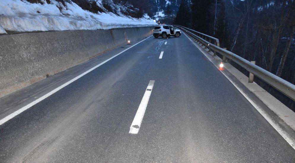 Filisur GR: Autofahrer bei Unfall verletzt