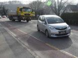 Oberriet: Unfall zwischen Lastwagen und Auto