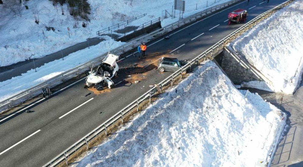 Schrecklicher Unfall in Schiers: 19-Jähriger stirbt nach Crash