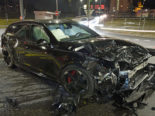 Auf dem Seetalplatz in Emmenbrücke ist es am Donnerstagabend zu einem heftigen Unfall zwischen zwei Fahrzeugen gekommen.