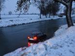 Diepoldsau: Nach Unfall in Binnenkanal gelandet