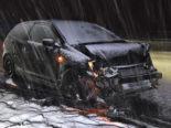 Unfall Gossau: Auf der A1 ins Schleudern gekommen