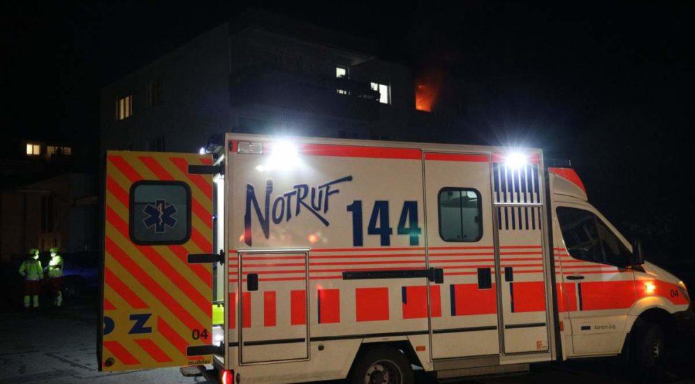 Brand in Steinhausen: Familienvater verstorben