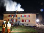 Stans NW: Mehrfamilienhaus in Brand