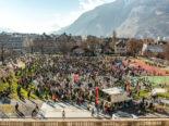 Chur: Kundgebung gegen Corona-Massnahmen: über 4000 Personen