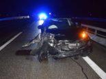 Niederbipp: Unfall wegen Geisterfahrer auf A1