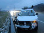 Unfall A3 Benken SG - Bei Überholmanöver Kontrolle verloren