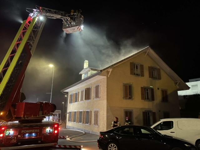 Marly FR: Drei Katzen sterben bei Wohnhausbrand