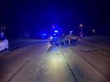 Seengen AG: Auto überschlägt sich bei Unfall