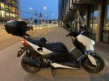 Baden AG - Unfall mit Motorrad