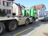 Unfall Romanshorn TG - Drei beteiligte Fahrzeuge