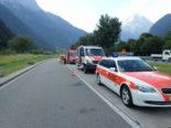 Kontrollen Uri UR - LKW mit gebrochenen Bremsscheiben unterwegs