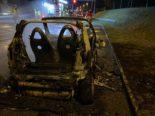 Fahrzeugbrand auf der Autobahn A3