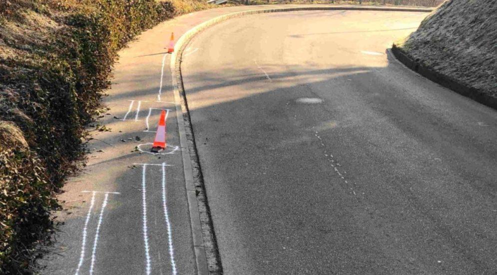 Unfall Bazenheid SG - Motorradfahrerin (16) stürzt