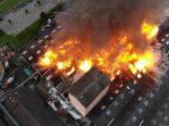 Grossbrand in Laufen: Technische Brandursache steht im Vordergrund