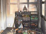 Brand Guntmadingen: Bewohnerin, zwei Hunde und eine Katze ins Spital gebracht