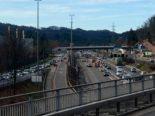 Unfall Zürich ZH - A1 in Richtung St.Gallen gesperrt