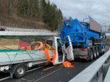 Heftiger Unfall A1 Winterthur ZH fordert drei Verletzte, zwei davon schwer