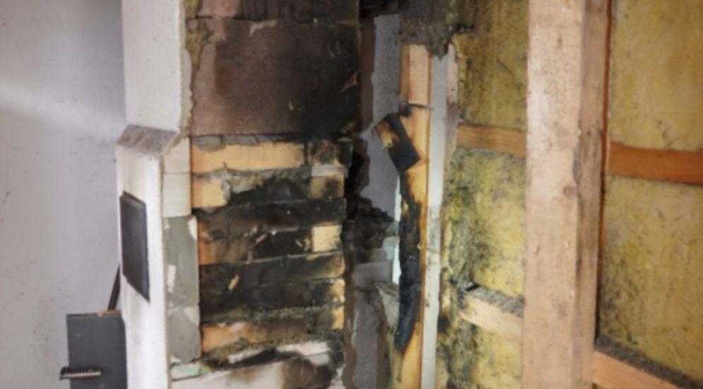 Wassen UR: Brand im Küchenbereich von Ferienhaus