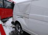 Gonten AI: Heftiger Unfall zwischen Lieferwagen und Appenzellerbahn