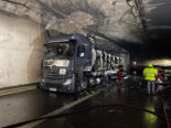 A3 Aesch ZH: Lastwagenbrand sorgt für Verkehrschaos