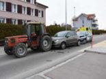 Unfall Oberuzwil SG: Auffahrkollision mit drei Beteiligten