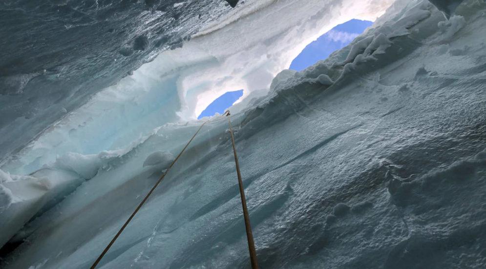 Gwächtenhorns BE - Rettung aus Gletscherspalte