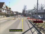Unfall Stadt Schaffhausen: 4-jähriger Knabe läuft in fahrendes Auto