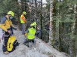 Albeuve FR: Canyoning-Rettung in der Evi-Schlucht