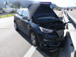 Unfall St. Margrethen SG: Heftiger Crash auf der A1