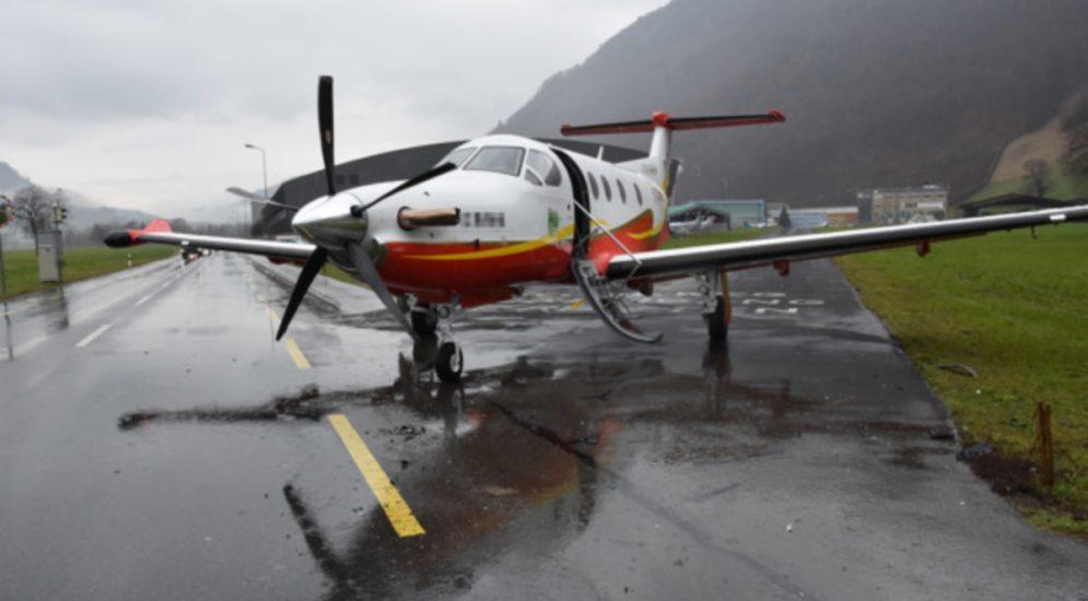 Stans NW: Unfall zwischen Auto und Motorflugzeug
