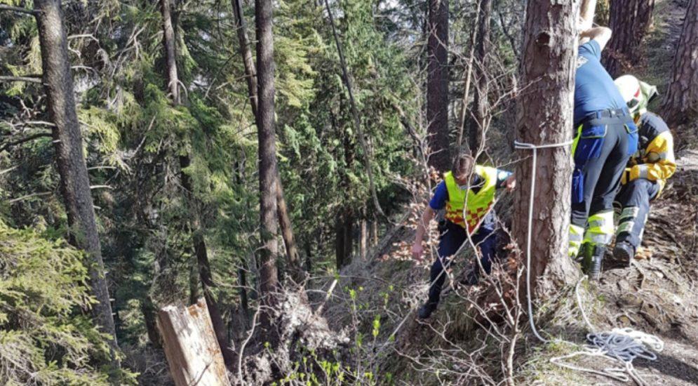 Bichelsee TG - Wanderin stürzt 40 Meter hinunter