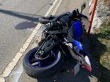 Schwerer Unfall in Urnäsch AI: Motorradfahrer prallt mehrmals in Leitplanke