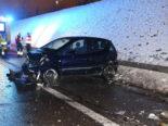 Unfall A1 bei Gossau SG: Überholmanöver endet in Leitplanke