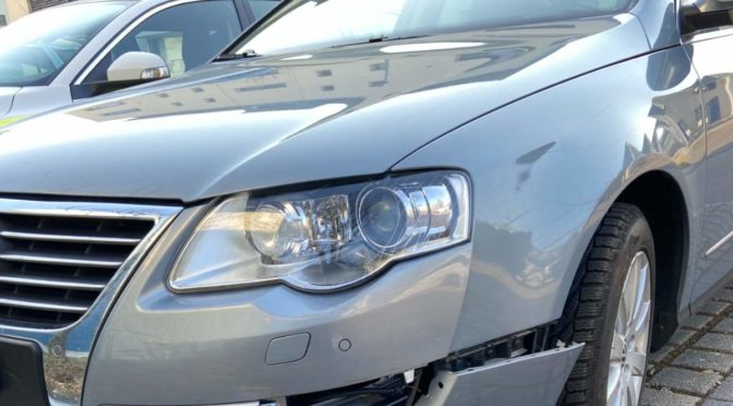 Möhlin AG: Autofahrer verwechselt bei Unfall Brems- und Gaspedal