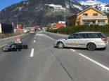 Schattdorf UR: Unfall zwischen Auto und Roller