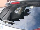 Unfall Gonten AI - Mädchen prallt wegen Schneegestöber in Auto